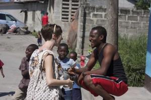 Robin Cantrell in Tanzania